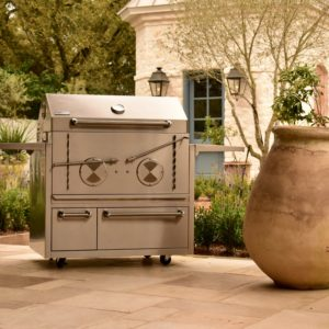 Cajun Grill | Steel Charcoal Grill-Smoker Combos | Made in USA